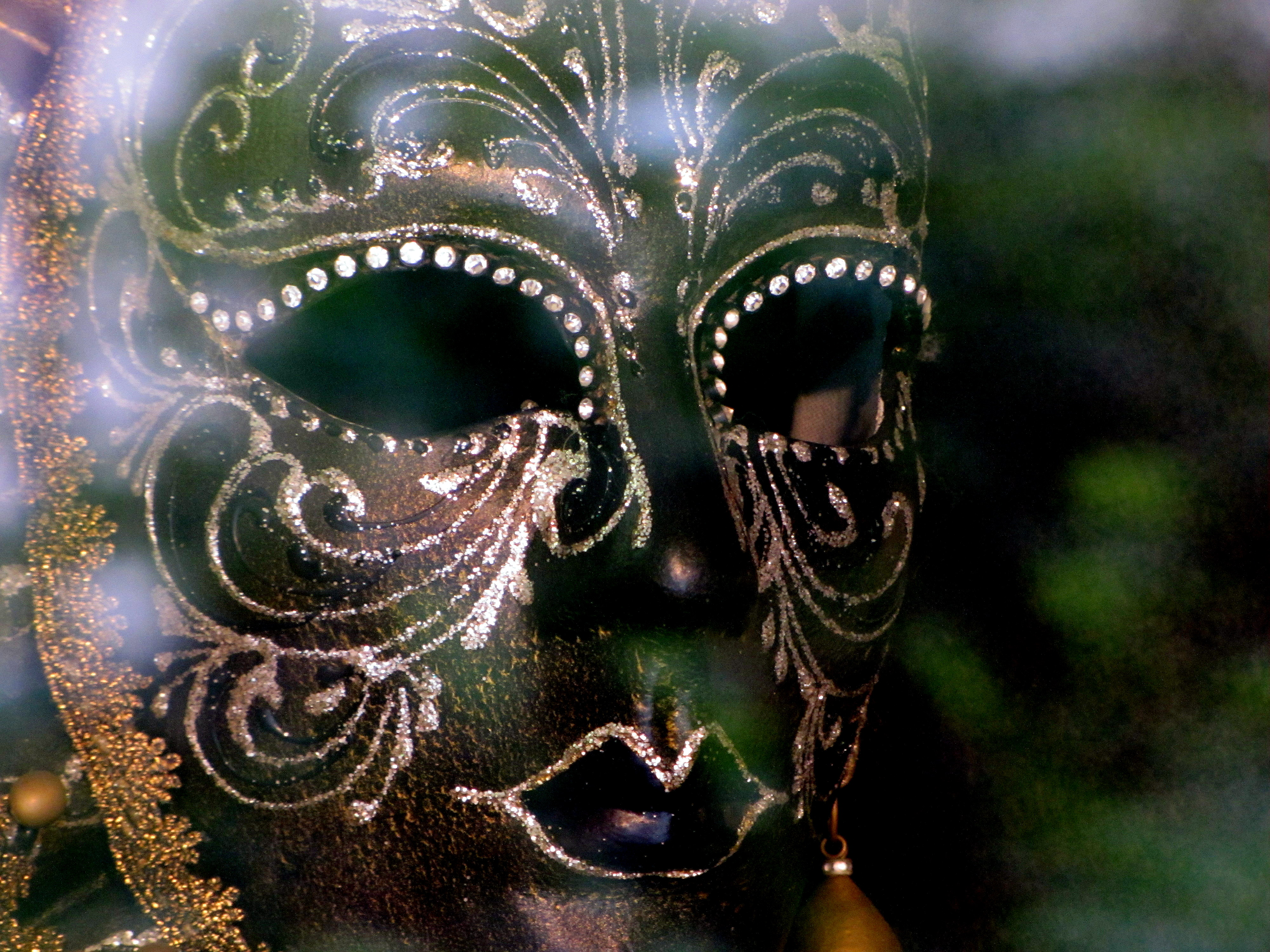 venise masque noir